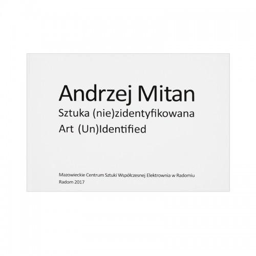 Andrzej Mitan. Sztuka...